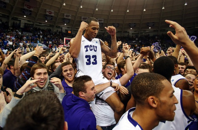 NCAA Basketball: Kansas at TCU